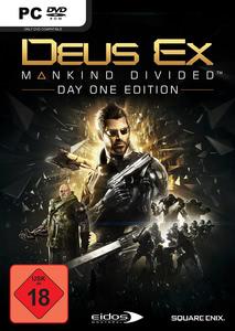 Verpackung von Deus EX: Mankind Divided Day One Edition [PC]