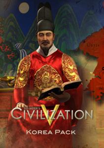 Verpackung von Sid Meier's Civilization V Korea Pack (DLC) [PC]
