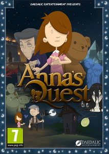 Packaging of Anna's Quest [PC]