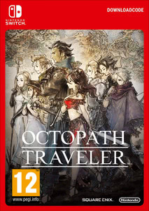 Packaging of Octopath Traveler [Switch]