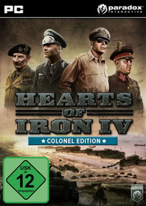 Verpackung von Hearts of Iron 4: Colonel Edition [PC]