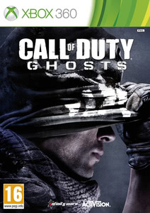 Verpackung von Call of Duty: Ghosts - PEGI AT [Xbox 360]