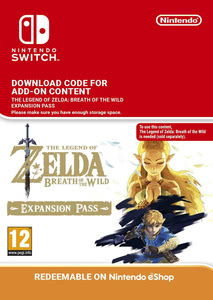 Packaging of The Legend of Zelda: Breath of the Wild Expansion Pass [Switch]