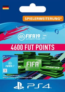 Verpackung von Fifa 19 4600 FUT Points Pack - Ultimate Team [PS4]