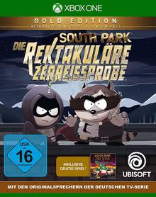 Verpackung von South Park: Die rektakuläre Zerreißprobe Gold Edition [Xbox One]