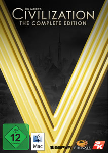 Verpackung von Sid Meier's Civilization V The Complete Collection [Mac]