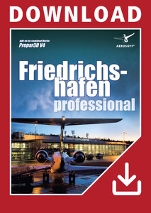 Packaging of Prepar3D V4 German Airports - Friedrichshafen professional [PC]