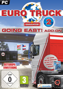 Verpackung von Euro Truck Simulator 2 Going-East [PC]