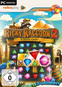 Verpackung von Ricky Raccoon 2 - Die Abenteuer in Ägypten [PC]