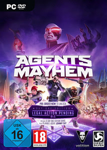 Verpackung von Agents of Mayhem Day One Edition [PC]