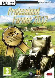 Packaging of Professional Farmer 2017 Gold Edition [PC]