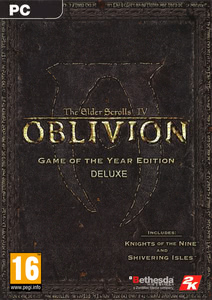 Packaging of The Elder Scrolls IV: Oblivion Game of the Year Deluxe [PC]