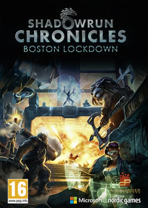 Packaging of Shadowrun Chronicles: Boston Lockdown [PC]
