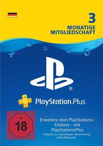 Verpackung von PlayStation Plus Mitgliedschaft 3 Monate / 90 Tage [PS4]