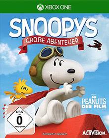 Verpackung von Snoopys Große Abenteuer [Xbox One]