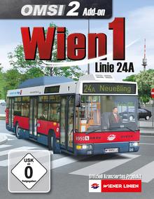 Verpackung von OMSI 2 Wien 1 Linie 24A [PC]