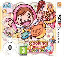 Verpackung von Cooking Mama - Sweet Shop! [3DS]