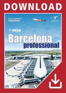 Verpackung von Prepar3D V4 Mega Airport Barcelona Professional [PC]