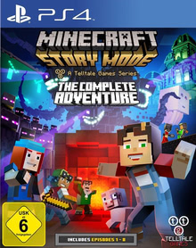 Verpackung von Minecraft: Story Mode - The Complete Adventure [PS4]