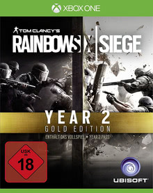 Verpackung von Tom Clancy's Rainbow Six: Siege Gold Edition - Year 2 Pass [Xbox One]