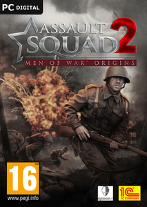 Packaging of Assault Squad 2: Men of War Origins [PC]