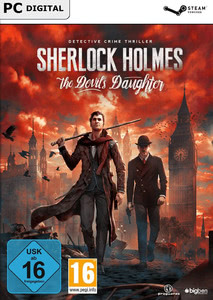 Packaging of Sherlock Holmes: The Devil's Daughter [PC]