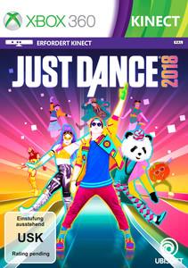 Verpackung von Just Dance 2018 [Xbox 360]