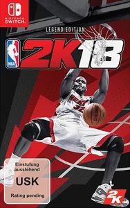Verpackung von NBA 2K18 Legend Edition [Switch]