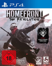 Verpackung von Homefront: The Revolution Day One Edition [PS4]