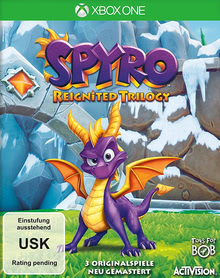 Verpackung von Spyro Reignited Trilogy [Xbox One]