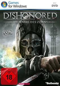 Verpackung von Dishonored: Die Maske des Zorns [PC]