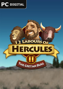 Packaging of 12 Labours of Hercules II: The Cretan Bull [PC / Mac]