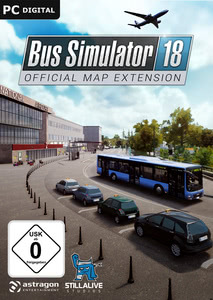Verpackung von Bus Simulator 18 Official Map Extension [PC]