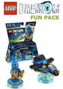 Lego Dimensions Fun Pack Jay Lego Ninjago Ps3 Ps4 Wii U