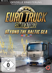 Verpackung von Euro Truck Simulator 2 Beyond the Baltic Sea [PC / Mac]