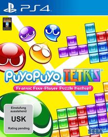 Verpackung von Puyo Puyo Tetris [PS4]