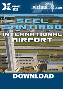 Packaging of X-Plane 10 SCEL Santiago International Airport [PC]