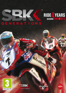 Packaging of SBK 12 Generations [PC]