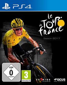 Verpackung von Tour de France 2017: Der offizielle Radsport Manager [PS4]
