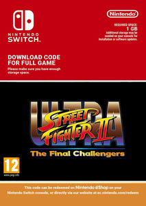Packaging of Ultra Street Fighter II: The Final Challengers [Switch]