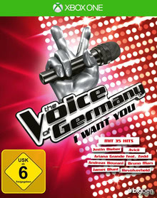 Verpackung von The Voice of Germany - I want you [Xbox One]