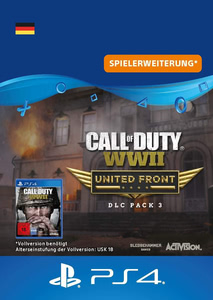 Verpackung von Call of Duty WW2 United Front [PS4]