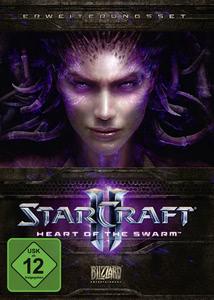Verpackung von StarCraft II: Heart of the Swarm [PC]