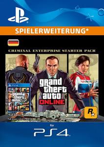 Verpackung von Grand Theft Auto V (GTA): Criminal Enterprise Starter Pack [PS4]