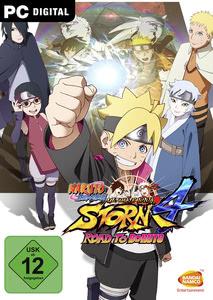 Verpackung von Naruto Shippuden Ultimate Ninja Storm 4: Road to Boruto [PC]
