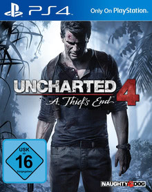 Verpackung von Uncharted 4: A Thief's End [PS4]