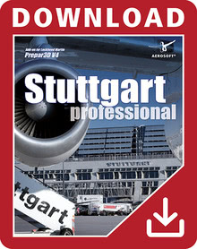 Packaging of Prepar3D V4 German Airports - Stuttgart professional [PC]