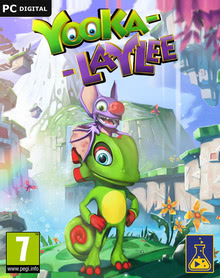 Packaging of Yooka-Laylee [PC]