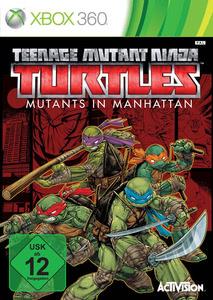 Verpackung von Teenage Mutant Ninja Turtles: Mutants in Manhattan [Xbox 360]