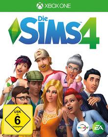 Verpackung von Die Sims 4 [Xbox One]